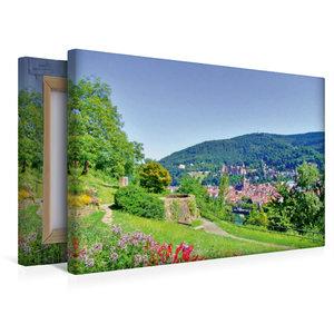Premium Textil-Leinwand 45 cm x 30 cm quer Ein Motiv aus dem Kal