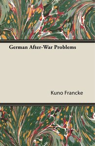 German After-War Problems