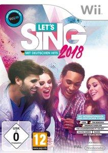 Let\'s Sing 2018 mit Deutschen Hits, 1 Nintendo-Wii-Spiel