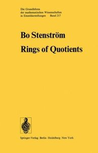 Rings of Quotients
