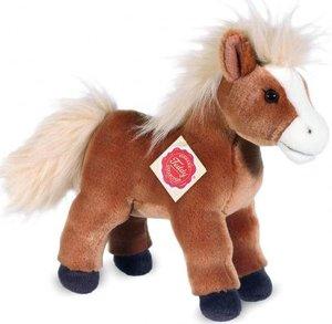 Teddy Hermann 90222 - Haflinger mit Stimme, Pferd stehend, hellb