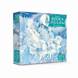 The Snow Queen, jigsaw, w. picture book
