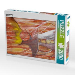 Ausrichtung 2000 Teile Puzzle hoch