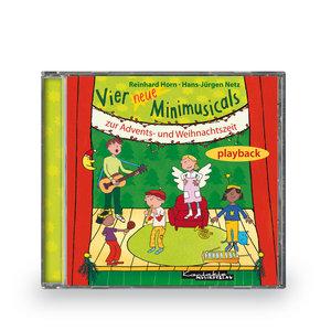 Vier neue Minimusicals zur Advents- und Weihnachtszeit. Playback