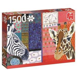 Eugen Stross, Afrikanische Kunst - 1500 Teile Puzzle