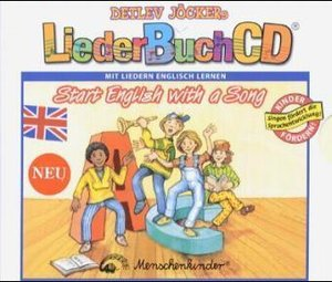 LiederBuchCD. Start English with a Song. CD und Buch