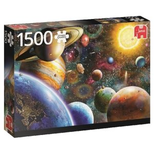 Planeten im Weltall - 1500 Teile Puzzle