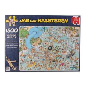 Jan van Haasteren - Tropischer Badetag - 1500 Teile Puzzle
