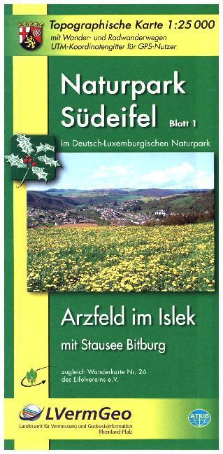 Naturpark Südeifel: Arzfeld im Islek / Neuerburg, Körperich, Via - zum Schließen ins Bild klicken