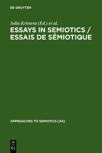 Essays in Semiotics /Essais de sémiotique