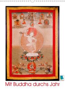 Mit Buddha durchs Jahr: historische Zeichnungen