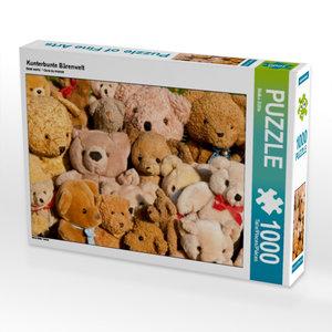 Kunterbunte Bärenwelt 1000 Teile Puzzle quer