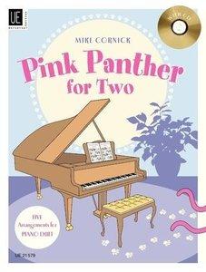 Pink Panther for Two, für Klavier zu 4 Händen mit Audio-CD