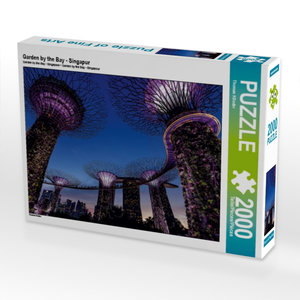 Garden by the Bay - Singapur 2000 Teile Puzzle quer