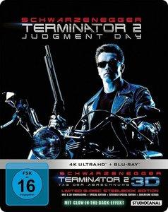 Terminator 2-Limited Steelbook Edition 4k Ultra HD