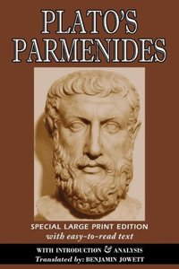 Parmenides (Large Print Edition)