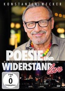 Poesie und Widerstand live - Die Jubiläumskonzerte zum 70. Gebur
