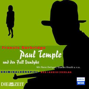 Paul Temple und der Fall Vandyke. 4 CDs