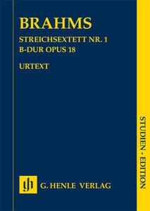 Streichsextett Nr. 1 B-dur op. 18 SE