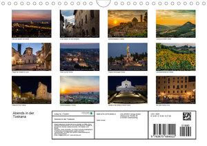 Abends in der Toskana (Wandkalender 2020 DIN A4 quer)
