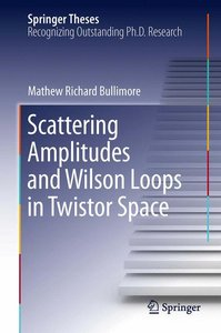 Scattering Amplitudes and Wilson Loops in Twistor Space