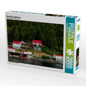 Boat Bluff Lighthouse 2000 Teile Puzzle quer