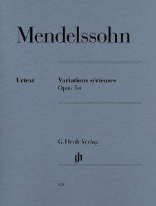 Variations sérieuses op. 54