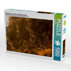 Ein Blick in die Tiefen des Bienenstocks 1000 Teile Puzzle hoch
