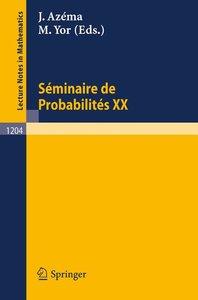 Séminaire de Probabilités XX 1984/85