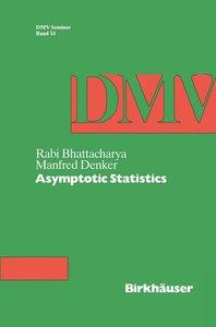 Asymptotic Statistics