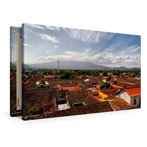 Premium Textil-Leinwand 90 cm x 60 cm quer Granada, Nicaragua