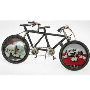 Bilderrahmen Duo, Fahrrad, schwarz