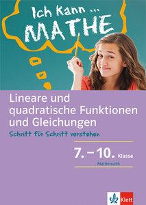 Lineare und quadratische Funktionen und Gleichungen. Schülerbuch