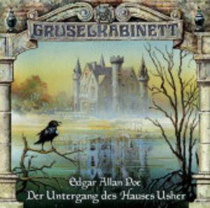 Gruselkabinett 11. Der Untergang des Hauses Usher. CD
