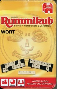 Original Rummikub WORT Kompakt in Metalldose