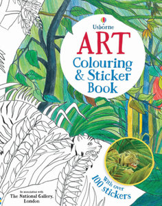 Art Colouring and Sticker Book