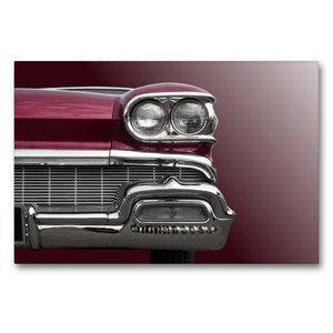 """Premium Textil-Leinwand 90 cm x 60 cm quer US-Autoklassiker \""""St"""