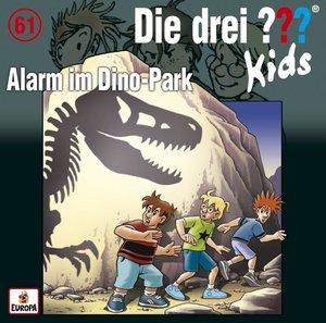 Die drei ??? Kids 61: Alarm im Dino-Park (Audio-CD)