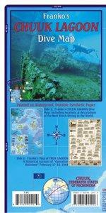 Franko Map Chuuk Guide Map