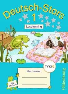 Deutsch-Stars 1. Schuljahr Lesetraining. Ting-Ausgabe