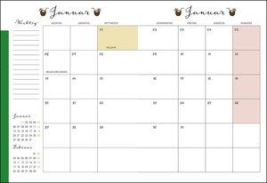 Motiv Spiral-Kalenderbuch A5 Kalender 2020