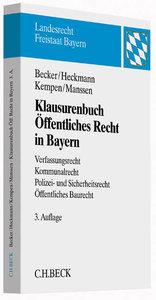 Klausurenbuch Öffentliches Recht in Bayern