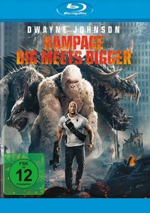 Rampage - Big Meets Bigger, 1 Blu-ray