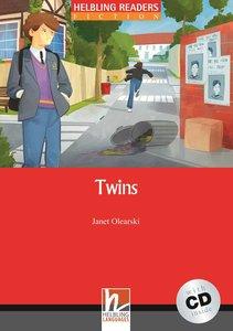Twins, mit 1 Audio-CD. Level 3 (A2)