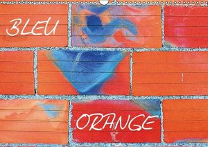 Bleu Orange (Calendrier mural 2015 DIN A3 horizontal)