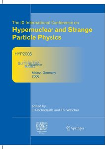 Proceedings of The IX International Conference on Hypernuclear a