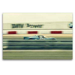 Premium Textil-Leinwand 120 cm x 80 cm quer High Speed Racing