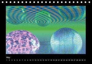 The third dimension (Table Calendar perpetual DIN A5 Landscape)