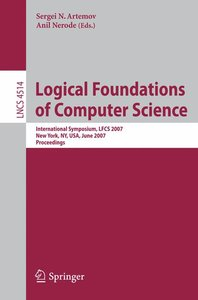 Logical Foundations of Computer Science