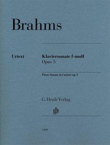 Klaviersonate f-moll op. 5